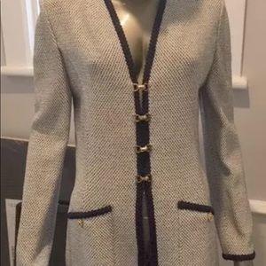 St John Collection Career Jacket Blazer 10